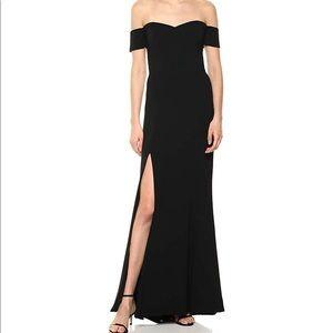 Dress The Population Size L Black Off Shoulder